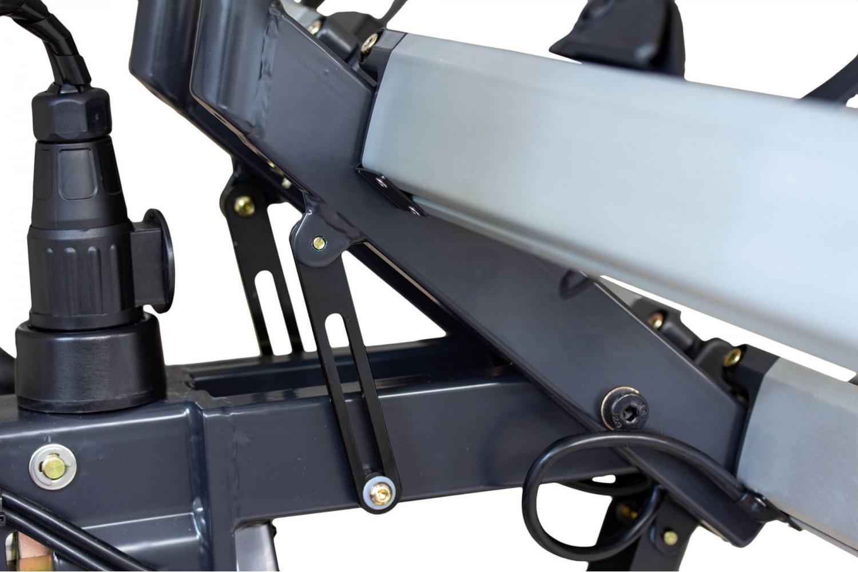 XLC Azura Xtra LED VC-C05  kantelbare fietsendrager