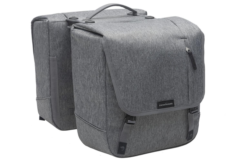 New Looxs Dubbele Fietstas Nova | Racktime | Grey