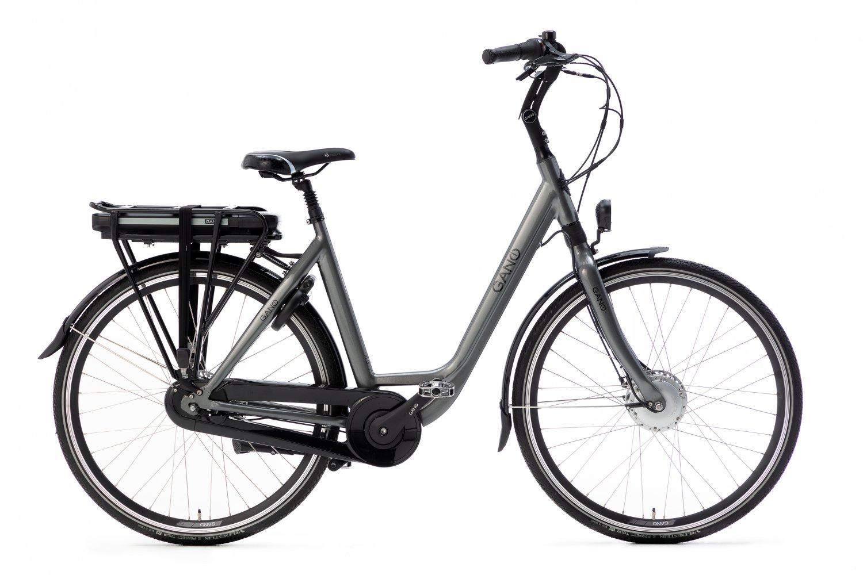 Gano Esto E2 Elektrische fiets 28 inch Dames 53cm Craft Grey