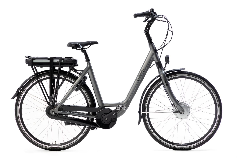 Gano Esto E2 Elektrische fiets 28 inch Dames 47cm Craft Grey