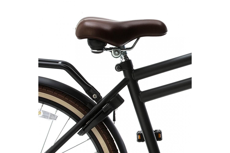 Nogan Vintage N3 Transportfiets 24 inch Jongens Mat Zwart