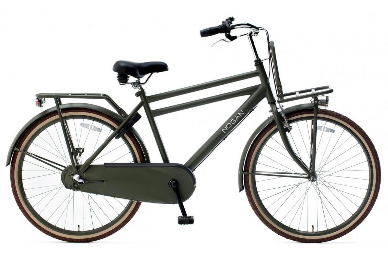 Nogan Vintage N3 Transportfiets 24 inch Jongens Leger groen