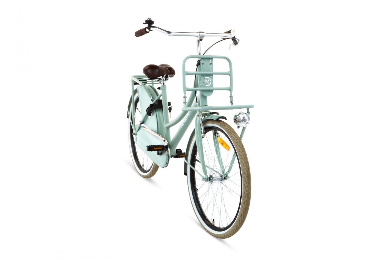 Nogan Vintage Transportfiets 26 inch Meisjes Oslo Groen