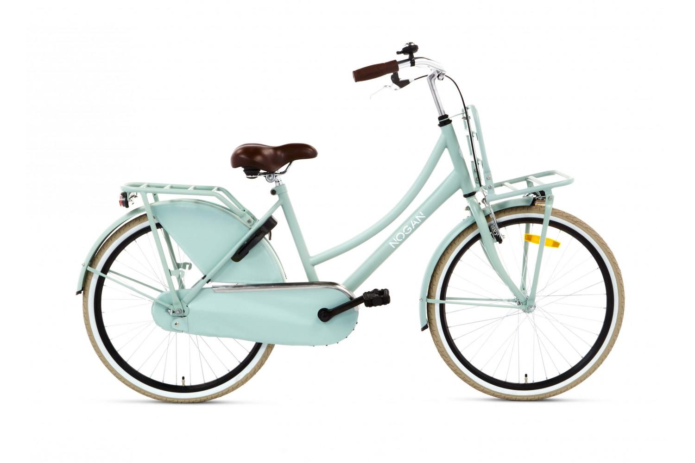 Nogan Vintage Meisjes Transportfiets 24 inch Groen