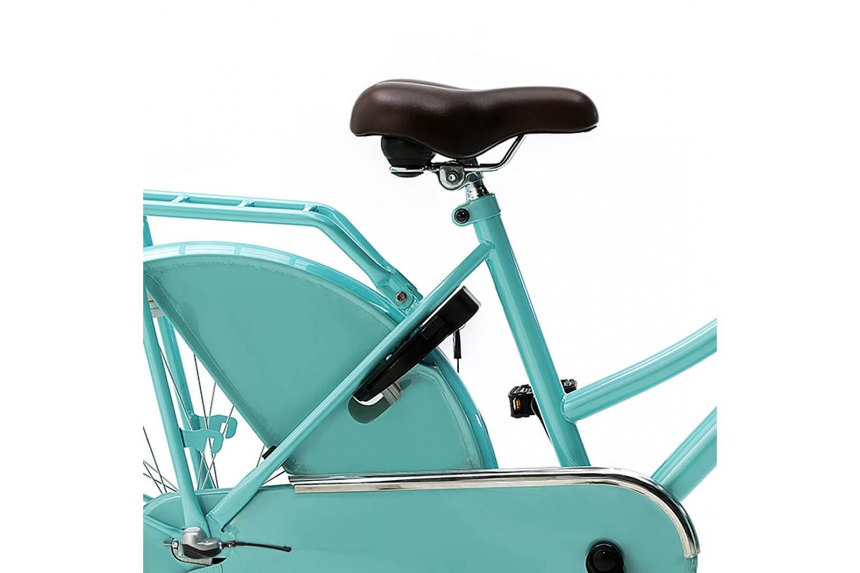 Nogan Vintage Transportfiets 26 inch Meisjes Aqua Blauw
