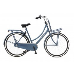Nogan Vintage N3 Transportfiets 28 inch 57cm Dames Mat Blauw