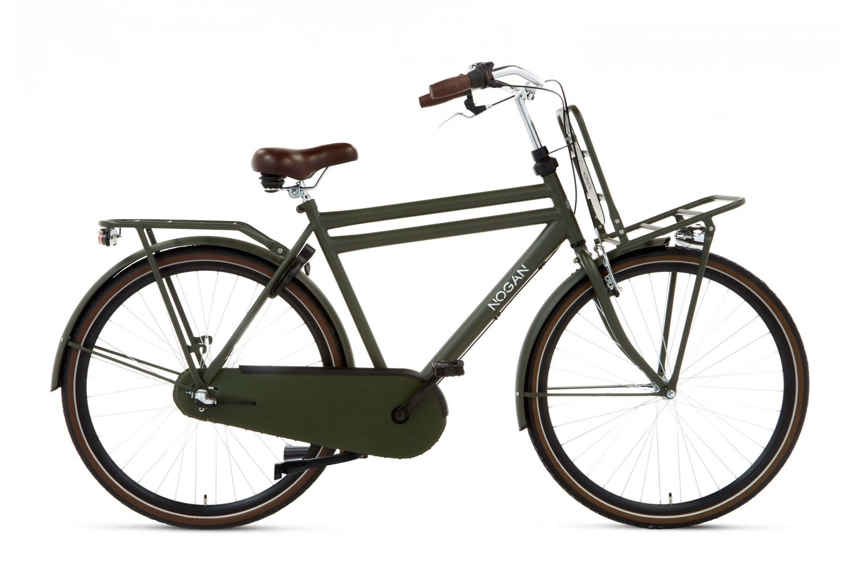 Nogan Vintage N3 Transportfiets 28 inch 57cm Heren Leger Groen