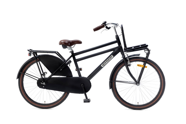 Popal Daily Dutch Basic Transportfiets 24 inch Jongens Mat Zwart
