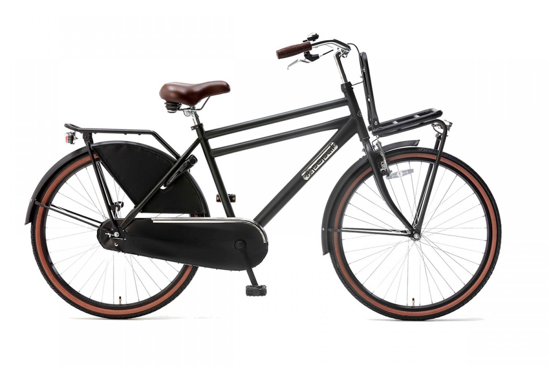 Popal Daily Dutch Basic Transportfiets 26 inch Jongens Mat Zwart