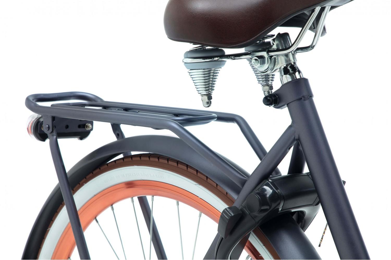 Popal Daily Dutch Basic Transportfiets 28 inch Dames 57cm Petrol Blauw