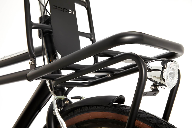 Popal Daily Dutch Basic+ 28 inch Transportfiets Heren 57cm Mat Zwart