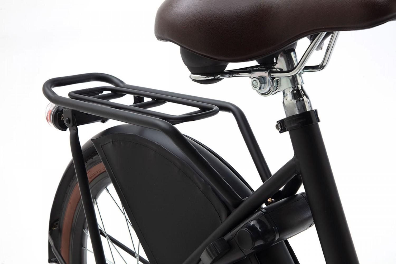 Popal Daily Dutch Basic+ Transportfiets 22 inch Meisjes Mat Zwart