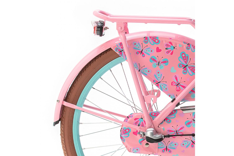Popal Daily Dutch Basic+ Transportfiets 22 inch Meisjes Mint-Roze