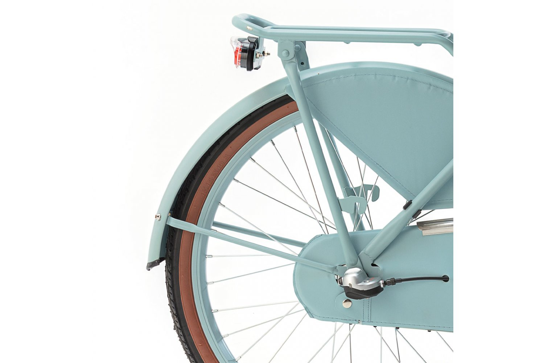 Popal Daily Dutch Basic+ Transportfiets 22 inch Meisjes Mat Blauw