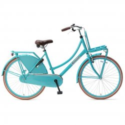 Popal Daily Dutch Basic 2020 Transportfiets 26 inch Turquoise