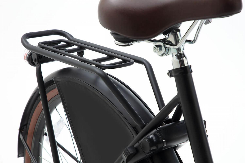Popal Daily Dutch Basic+ Transportfiets 26 inch Meisjes Mat Zwart