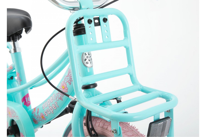 Supersuper Lola Kinderfiets 16 inch Meisjes Mint Roze