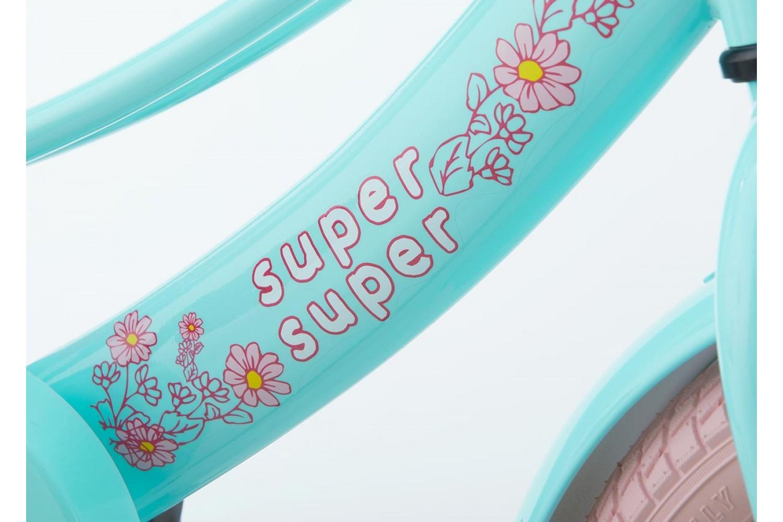 Supersuper Lola Kinderfiets 14 inch Meisjes Mint-Roze