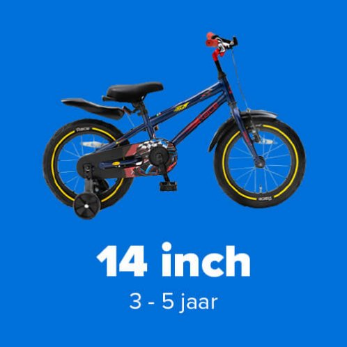 Jongensfietsen 14 inch