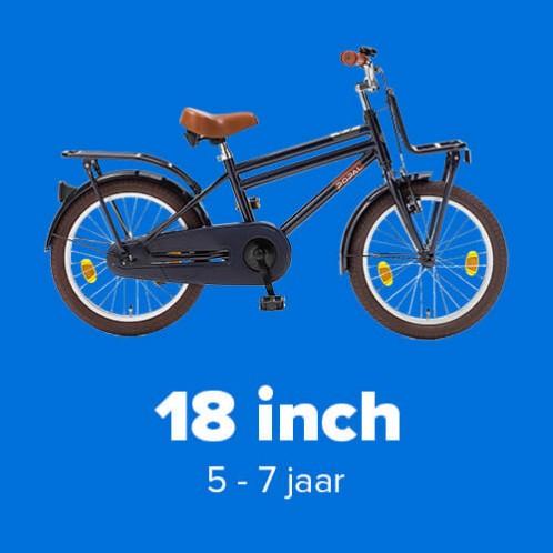 Jongensfietsen 18 inch