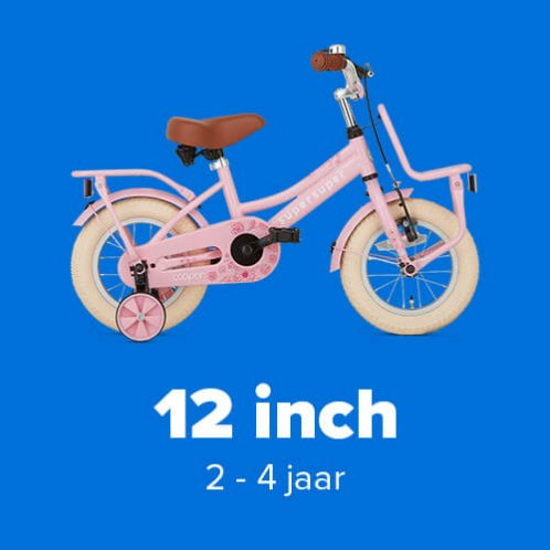 Meisjesfietsen 12 inch