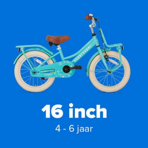 Meisjesfietsen 16 inch
