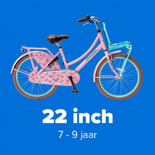 Meisjesfietsen 22 inch