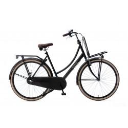 Nogan Vintage N3 Transportfiets 28 inch 57cm Dames Mat Zwart