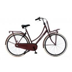 Nogan Vintage N3 28 inch Transportfiets 57cm Dames Mat Rood
