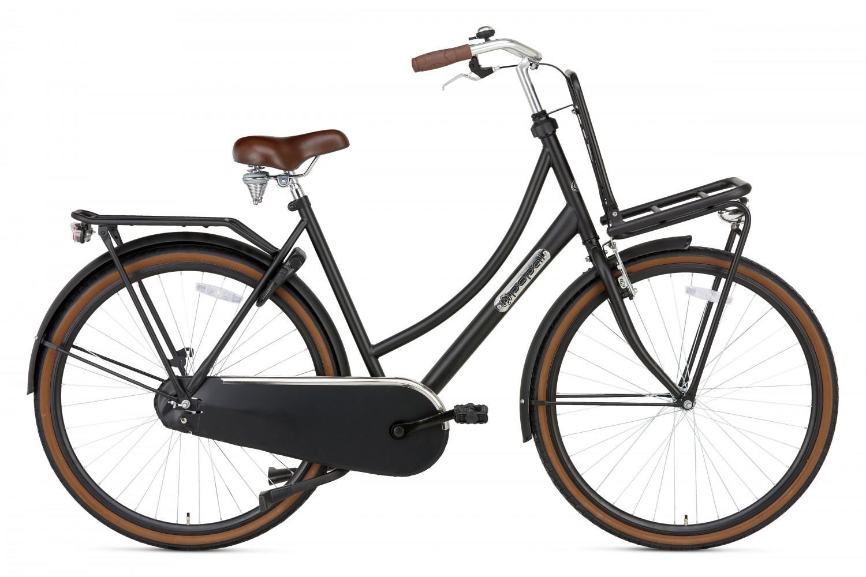 Popal Daily Dutch Basic Transportfiets 28 inch 50cm Dames Mat Zwart