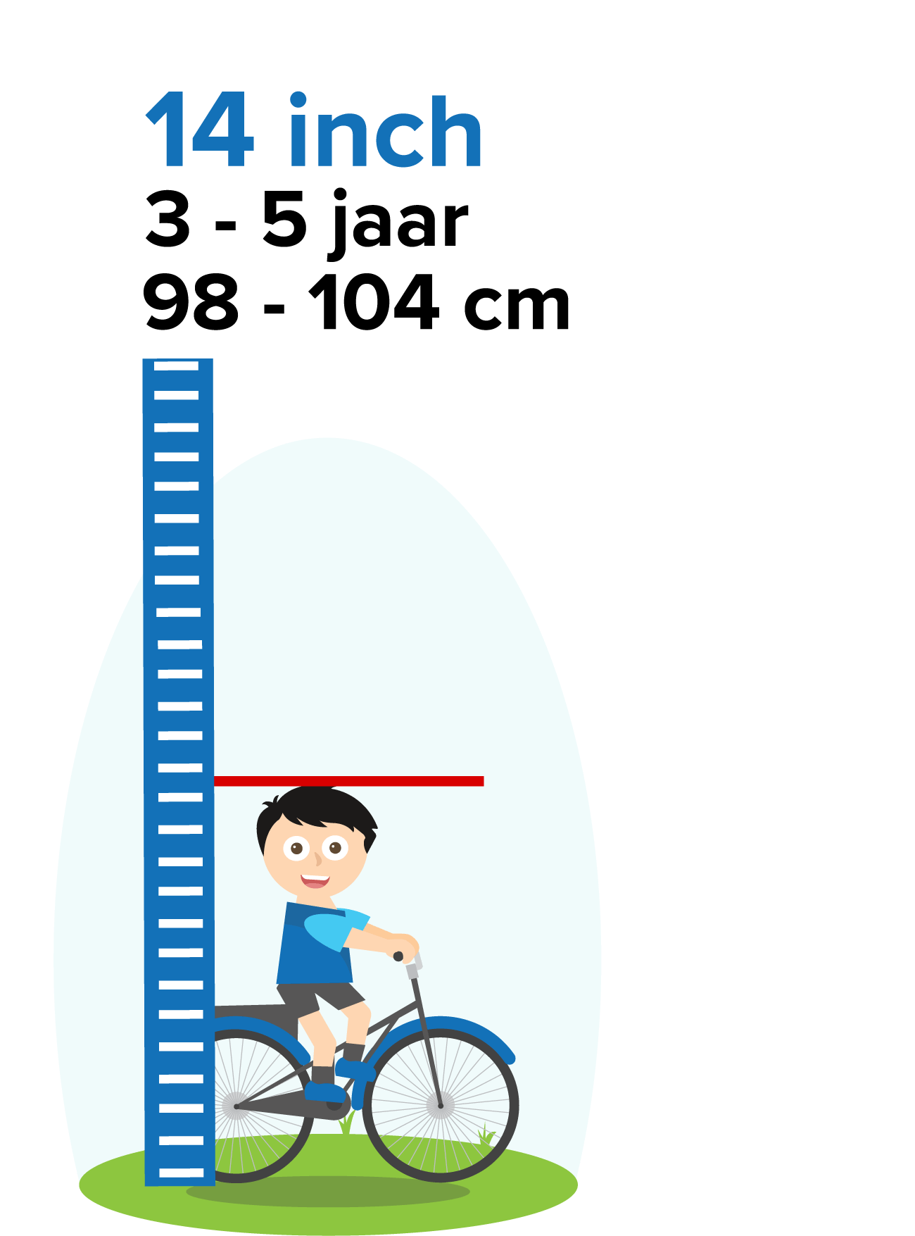 kinderfiets 14 inch