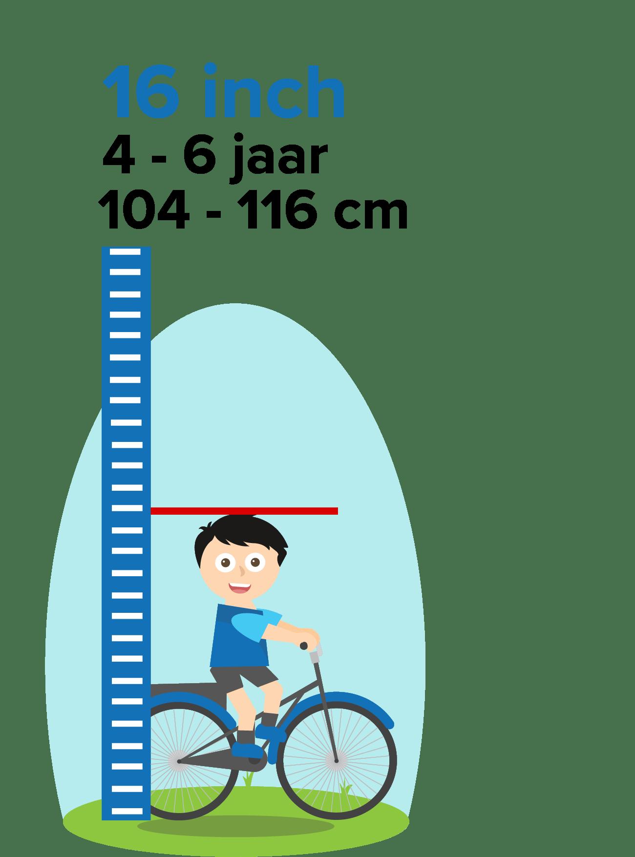 kinderfiets 16 inch