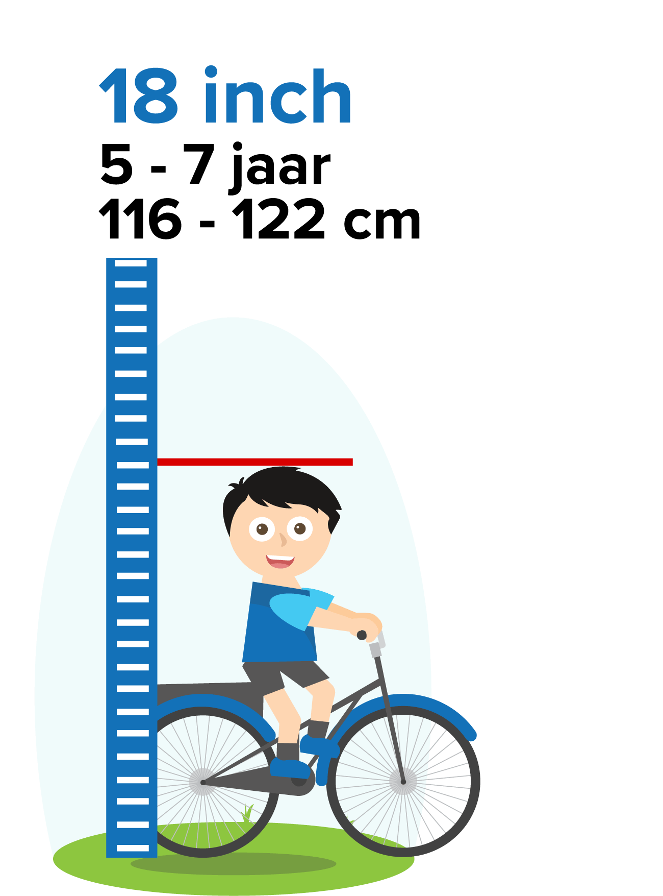 kinderfiets 18 inch