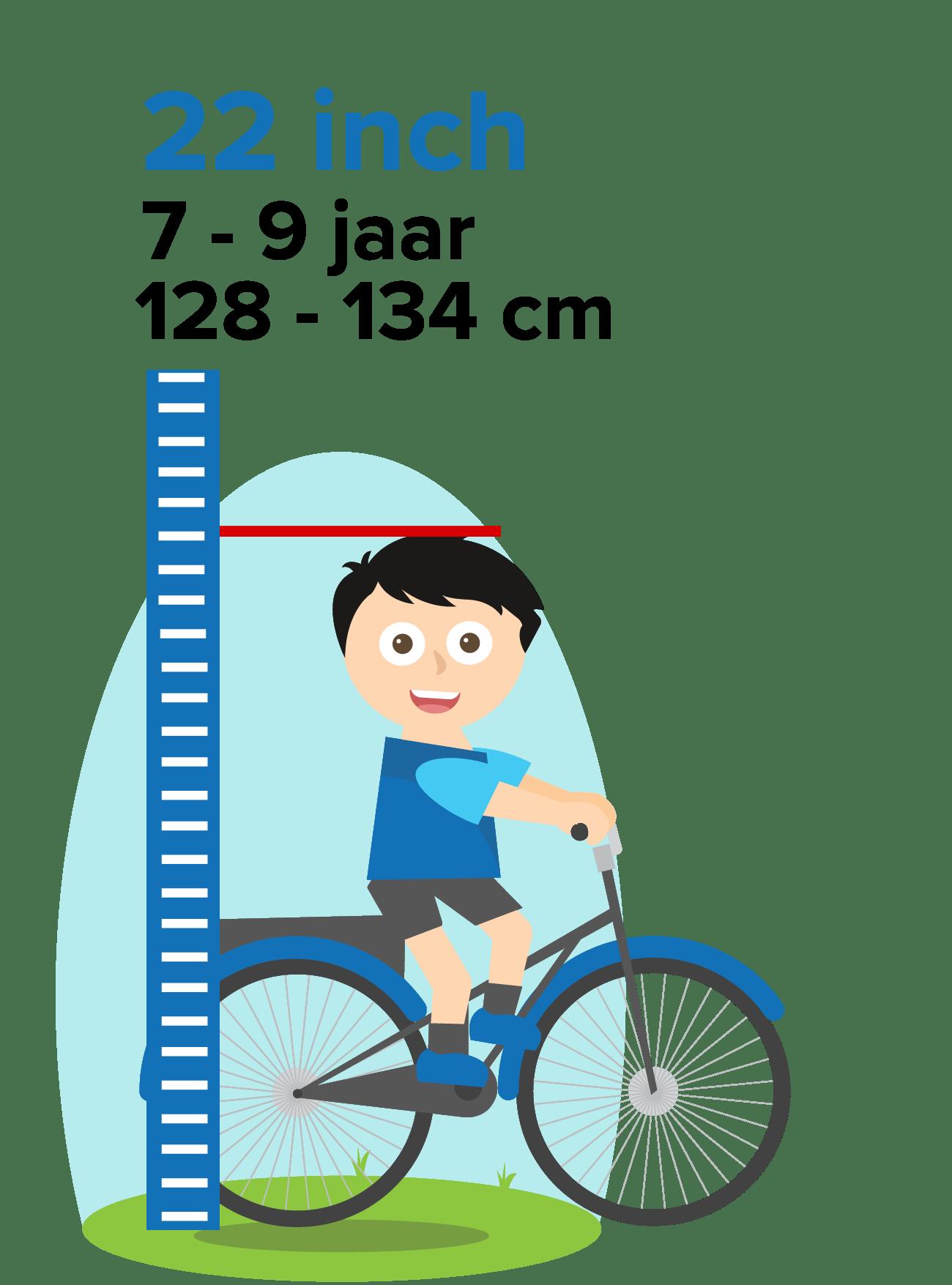kinderfiets 22 inch